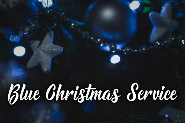 worship with holy communion - Blue Christmas Service